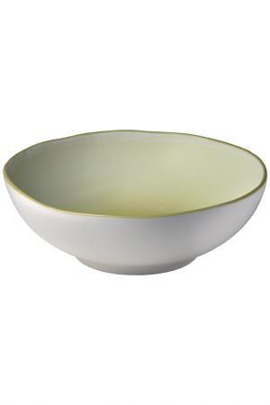 Салатник 25 см Bitossi. Цвет: зеленый