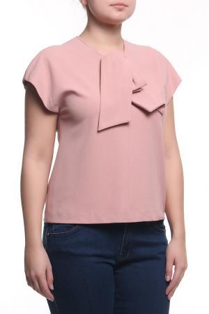 Блуза Clips. Цвет: розовый