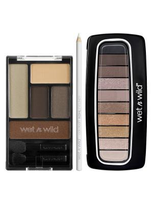 Подарочный набор WnW 1 Wet n Wild. Цвет: бледно-розовый,коралловый