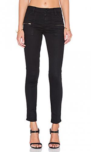 Узкие джинсы Sanctuary. Цвет: черный