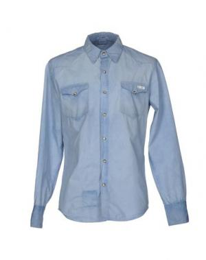 Pубашка 2 MEN. Цвет: небесно-голубой