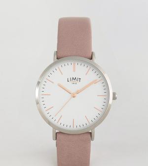 Limit Часы с розовым ремешком эксклюзивно для ASOS. Цвет: розовый