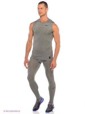 Тайтсы COOL TIGHT Nike. Цвет: серый