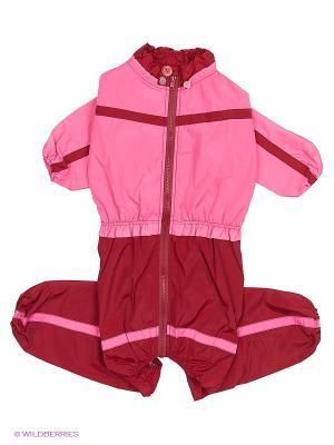 Дождевик холодный (Далматин), девочка ТУЗИК. Цвет: розовый