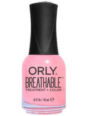 Профессиональный дышащий уход (цвет) за ногтями 910 HAPPY & HEALTHY ORLY. Цвет: розовый