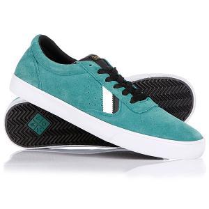 Кеды кроссовки низкие  Gamma Aqua/Green/Black/White VOX. Цвет: зеленый