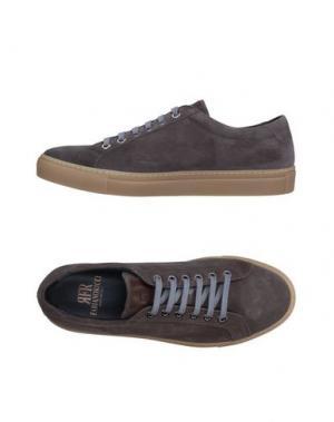 Низкие кеды и кроссовки FABIANO RICCI. Цвет: серый