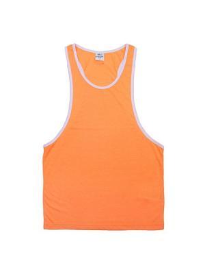 Майка спортивная K1X. Цвет: оранжевый