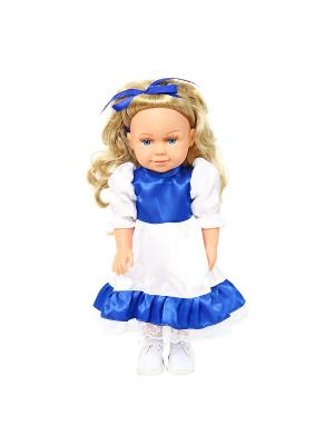 Кукла  Полина 37см. Lisa Jane. Цвет: синий, белый