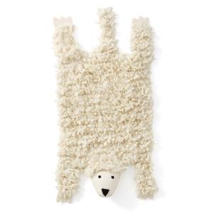 Ковер из овечьей шерсти Agape AM.PM.. Цвет: белый