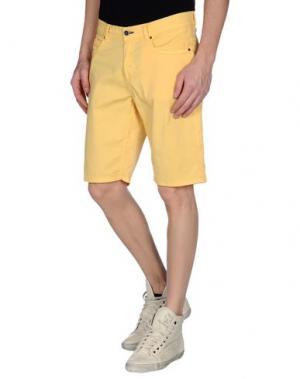 Бермуды RUMJUNGLE. Цвет: желтый