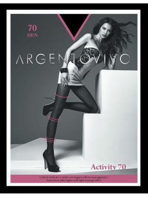 Колготки Activiti 70 Argentovivo. Цвет: черный