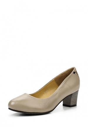 Туфли Ascalini. Цвет: серый