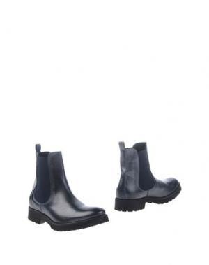 Полусапоги и высокие ботинки STELE. Цвет: темно-синий