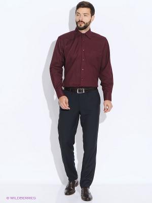 Рубашка Conti Uomo. Цвет: бордовый