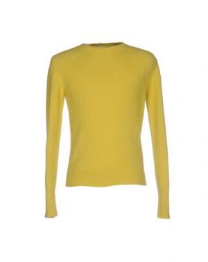 Свитер SOHO. Цвет: желтый