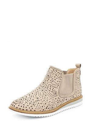 Ботинки Caprice. Цвет: бежевый
