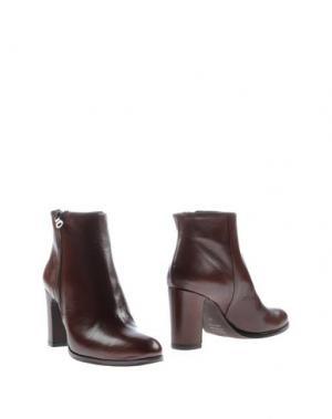Полусапоги и высокие ботинки GIORDANA F.. Цвет: коричневый