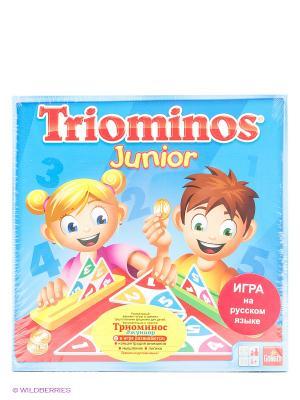Настольная игра Triominos Junior New GOLIATH. Цвет: красный, зеленый