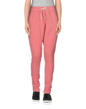 Повседневные брюки REIGN. Цвет: розовый