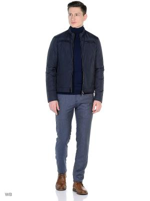 Куртка Herno. Цвет: синий, серый