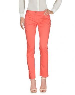 Повседневные брюки CONTE OF FLORENCE. Цвет: коралловый