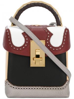 Alice Box mini bag The Volon. Цвет: многоцветный