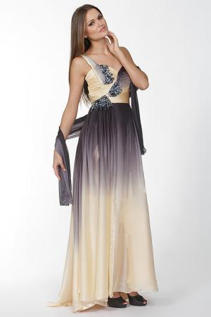 Платье Aeelis. Цвет: серый