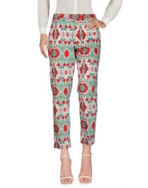 Повседневные брюки MARELLA SPORT. Цвет: красный