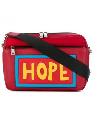 Сумка на плечо Hope Fendi. Цвет: красный