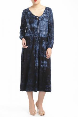 Платье SHEEGO. Цвет: dark blue