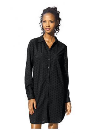 Удлиненная блузка Rick Cardona. Цвет: белый, черный