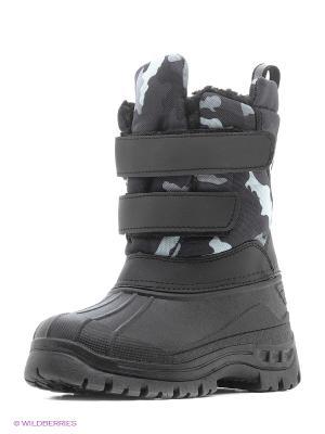 Полусапожки CentrShoes. Цвет: черный