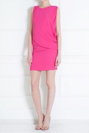 Платье из вискозы Jay Ahr. Цвет: розовый