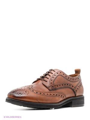Туфли PEPE JEANS LONDON. Цвет: коричневый