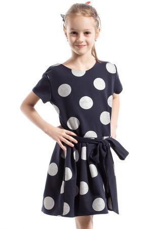 Платье KIDIN. Цвет: синий
