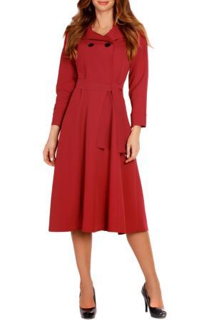 Dress LOU-LOU. Цвет: red