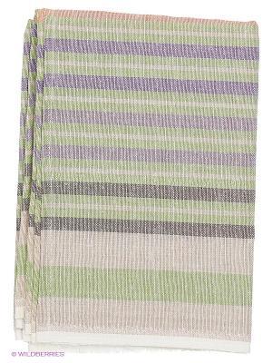 Полотенце лен/хлопок, набор 2 шт. 50*70см Letto. Цвет: зеленый
