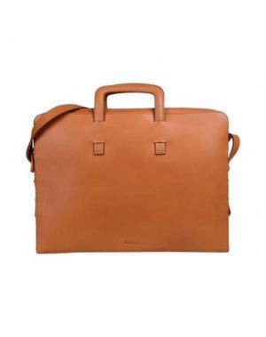 Деловые сумки MIANSAI. Цвет: желто-коричневый