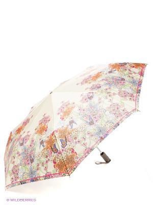 Зонт Eleganzza. Цвет: бежевый, салатовый