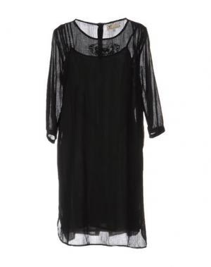 Короткое платье LOCAL APPAREL. Цвет: черный
