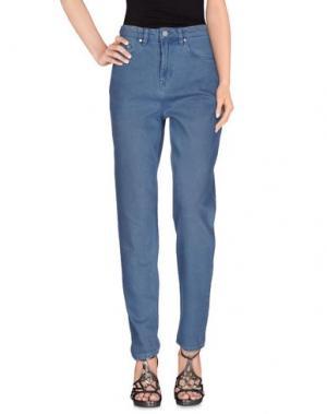 Джинсовые брюки SEVEN. Цвет: грифельно-синий