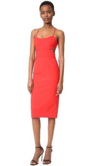Платье с вырезами Jill Stuart. Цвет: красное яблоко