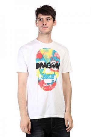 Футболка  Tri Skull Df S11 Ss White Dragon. Цвет: белый