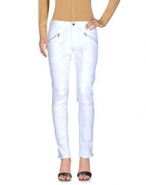 Повседневные брюки DIRK BIKKEMBERGS. Цвет: белый
