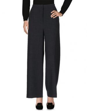 Повседневные брюки TRUE TRADITION. Цвет: стальной серый