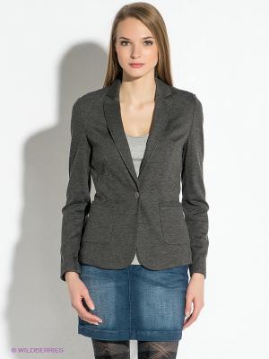 Пиджак Tommy Hilfiger. Цвет: темно-серый