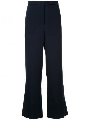 Прямые брюки Peox Nehera. Цвет: синий