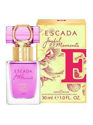 Парфюмерная вода joyful moments ESCADA. Цвет: прозрачный