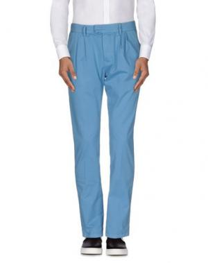 Повседневные брюки HAIKURE. Цвет: лазурный